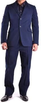 CNC Costume National Men's Blue Cotton Suit.