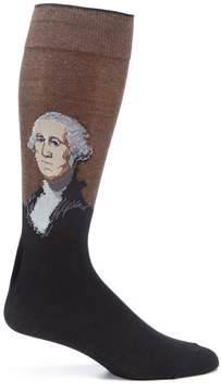 Hot Sox George Washington Crew Socks