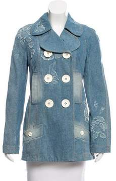 Christian Dior Double-Breasted Denim Jacket