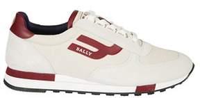 Bally Men's 6221262 White Cotton Sneakers.