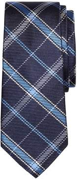Brooks Brothers Windowpane Plaid Silk Tie