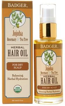 Badger Hair Oil Jojoba, Rosemary & Tea Tree