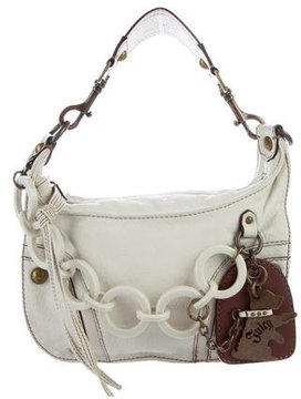 Juicy Couture Pebbled Leather Handle Bag