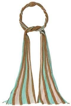 M Missoni Metallic Knit Scarf