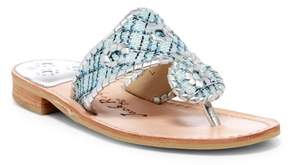 Jack Rogers Shiloh Tweed Thong Sandal