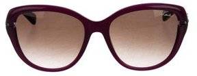 Lanvin Bi-Color Cat-Eye Sunglasses