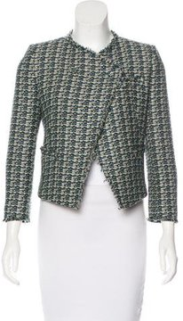 Band Of Outsiders Tweed Structured Jacket