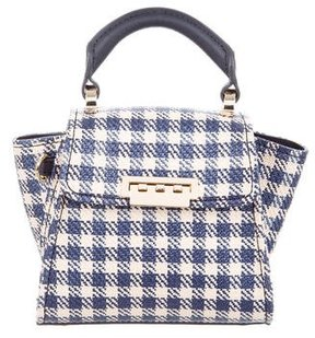 ZAC Zac Posen Mini Gingham Eartha Satchel w/ Tags
