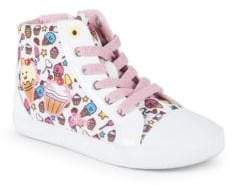 Geox Baby's & Kid's Graphic High-Top Sneakers