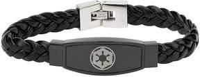 Star Wars FINE JEWELRY Imperial Crest Mens Stainless Steel Bracelet