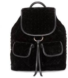 Vince Camuto Glenn – Quilted Velvet Backpack