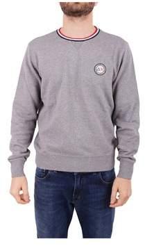 Sun 68 Men's Grey Cotton Sweatshirt.