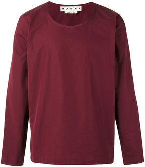 Marni oversized long sleeved t-shirt