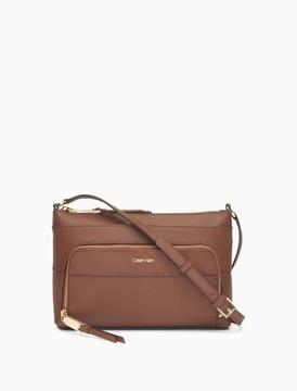 Calvin Klein saffiano crossbody bag