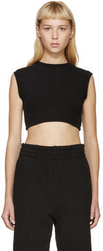 Yeezy Black Cropped Tank Top
