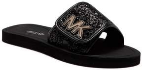 MICHAEL Michael Kors Eli Gear Glitter Slide Sandal (Little Kid & Big Kid)