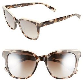 Bobbi Brown Women's The Bardot 53Mm Gradient Sunglasses - Ivory/ Havana
