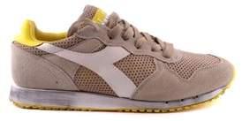 Diadora Heritage Men's Beige/yellow Suede Sneakers.