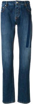 Kenzo printed stripes slim fit jeans
