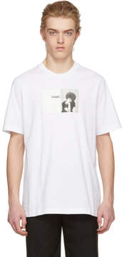 Oamc White Angela Davis T-Shirt