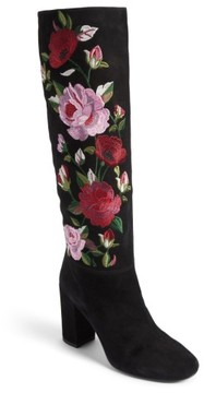 Kate Spade Women's Greenfield Flower Embroidered Boot