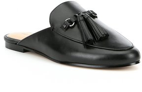 Gianni Bini Brewsten Leather Tassel Mules