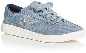 Tretorn Women's Nylite Plus Denim Lace Up Sneakers