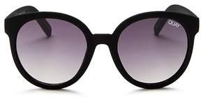 Quay High Tea Round Sunglasses, 54mm
