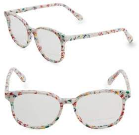 Stella McCartney 52MM Round Eyeglasses