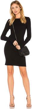 Enza Costa Cashmere Cuffed Mini Dress