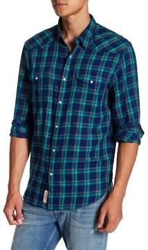 Lucky Brand Sante Fe Plaid Long Sleeve Regular Fit Shirt