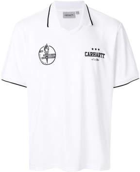 Carhartt open collar polo shirt