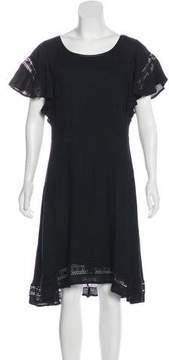 Ella Moss Knee-Length Scoop Neck Dress
