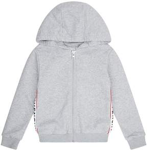 Givenchy Side Logo Zip-Up Hoodie