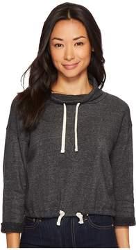 Alternative Eco-Fleece Funnel Neck Pullover Women's Sweatshirt