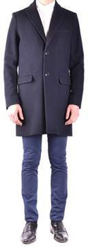 Massimo Rebecchi Men's Black Wool Coat.