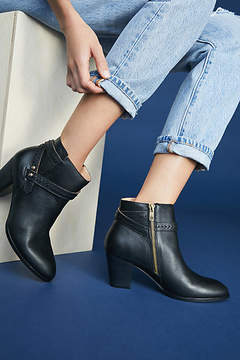 Anthropologie Side Buckle Booties