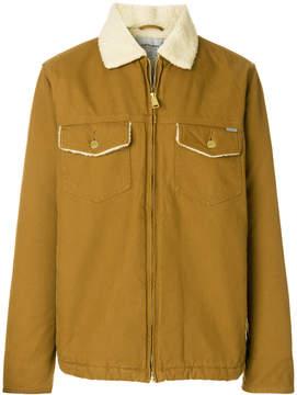 Carhartt shearling collar denim jacket