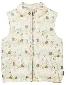MANGO Printed quilted gilet