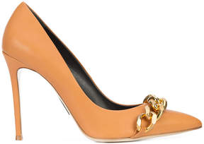 Thomas Wylde chain front pumps
