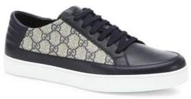 Gucci Common Supreme Low Top Leather Sneakers