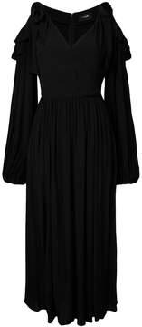 G.V.G.V. Rayon cold shoulder dress