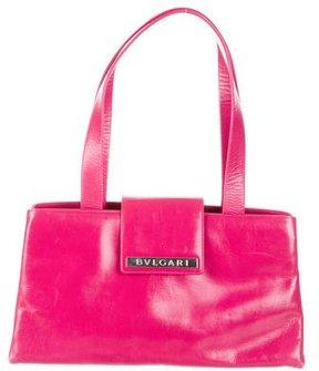 Bvlgari Leather Shoulder Bag