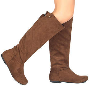 Qupid Cognac Neo Boot - Women