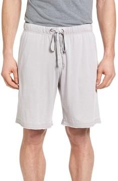 Daniel Buchler Men's Burnout Lounge Shorts