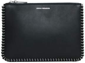 Paco Rabanne Leather Clutch