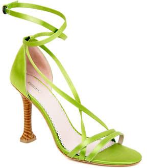 Max Studio exploit : strappy satin heels