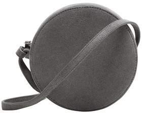 MANGO Round leather bag