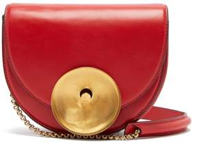 Marni Monile Leather Cross Body Bag - Womens - Red