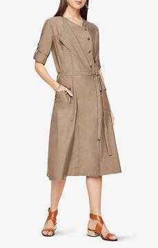 BCBGMAXAZRIA Halena Midi Dress